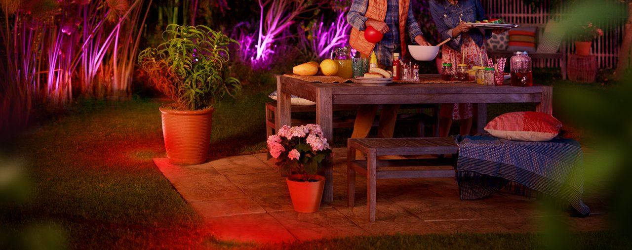 Slimme tuinverlichting: Philips Hue